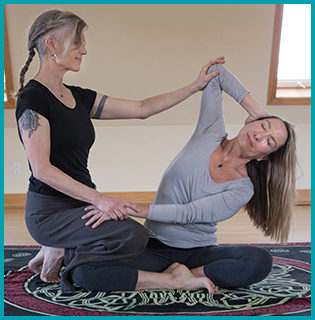 Thai Massage is an ancient bodywork practice which combines acupressure, energy meridian work and yoga-like stretching.